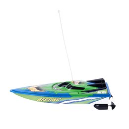 electric eu plug Australia - RC Boat Radio Remote Control Twin Motor High Speed Boat RC Racing Toy Gift For Kids Eu plug