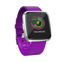 $enCountryForm.capitalKeyWord Australia - New Y7 Long Standby Time Smart Watch Blood Pressure Oxygen Smartwatch Waterproof BT4.0 Heart Rate Monitor for IOS Android