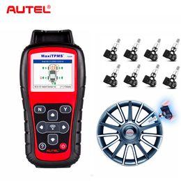 $enCountryForm.capitalKeyWord Australia - Autel TS508K + 4PCS 315Mhz+4PCS 433 Mhz Premium TPMS Service OBD2 Car Diagnostic Tool Activate Tire Pressure Sensor Program Tool