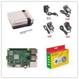 $enCountryForm.capitalKeyWord Australia - Newest Raspberry Pi 3 Model B+ 3B+ 3B With Retroflag NESPI Case And SD Card Power adapter HD Cable Headsink Fan With USB Game Controller