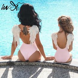 $enCountryForm.capitalKeyWord Australia - In-x Sexy Bikini Pink Swimsuit One Piece Female Monokini Backless Swimwear Women Bathers Black Bathing Suit One-piece Suits 2019 Y19072501