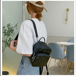 men backpack designers brand NZ - Hot Selling Emboss styles Fashion Brand Backpack Style High Quality New Arrival Designer Backpack Letter Bags Fashion Women Men Bags