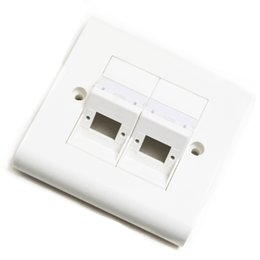 Fiber port online shopping - 5 Pieces Ports SC Fiber Faceplate with or without SC UPC APC SM Single Mode Adapter FTTD