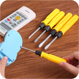 Cross Pens Wholesale Australia - One Word Cross Dual Purpose Screw Driver 2 Inch 3 Inch 4 Inch Manual Operation Small Screwdriver Suit Mini- More Function Screw Driver