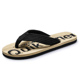 men fashion summer trend shoes 2019 - Slippers Male Korean Version Of The Trend Of Non-slip Feet Flip Flops 2019 New Fashion Wear Personality Men's Beach