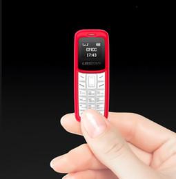 Mini Phones Sim Australia - L8STAR BM30 Mini Phone SIM+TF Card Unlocked Cellphone GSM 2G 3G 4G Wireless Headphone Bluetooth Dialer Headset Mobile with Mp3