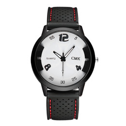 $enCountryForm.capitalKeyWord UK - 2019 New clock Dress hour Simple Fashion Ladies Black Silicone Strap Watch Sports Watch Solid Color Strap Sport female