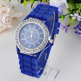 $enCountryForm.capitalKeyWord Australia - Geneva Women Watches Men Silicone Jelly Gel Roman Numerals Analog Quartz Hour Wrist Watch Clock Gift SSA199