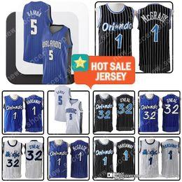 mens basketball jerseys 2019 - Tracy 1 McGrady Magics Jersey Mohamed 5 Bamba Orlando Shaquille 32 O'Neal Penny 1 Hardaway Mens Retro Mesh Embroide