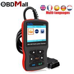 Bmw Obd Ii Scanner Australia - Creator C501 car diagnostic obd II scanner BM+OBD 2 Multi-system scanner fault diagnosis Tools for BMW cars better than EML 327