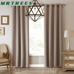 living curtains NZ - Modern blackout curtains for living room bedroom window curtains for window cloth curtains+tulle curtains drapes 1 panels