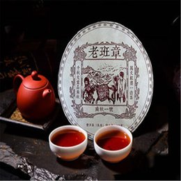 yunnan black tea 2019 - Hot sales Pu'Er Tea 357g Piece Tea Cake black tea China Yunnan Old Aged Ripe Pu-erh discount yunnan black tea