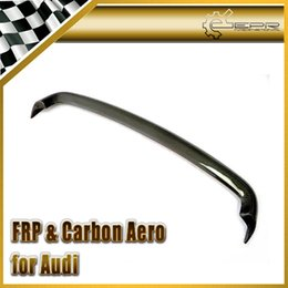 Carbon Lip Australia - Car-styling For Audi MK1 Type 8N Carbon Fiber Ducktail Spoiler Addon Rear Wing Lip