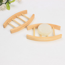 Dish supplies online shopping - Ladder Shape Soap Holder Natural Lotus Soaps Dishes Manual Wooden Bardian Home Bathroom Supplies Sturdy And Durable zz C1