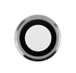 Parts For Glasses Australia - Einpassung For 6S Back Rear Camera Lens Sapphire Crystal Glass With Metal Frame Repair Replacement Part