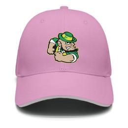 Fighting Australia - Womens Mens Flat-along Adjustable Notre Dame Fighting Irish Hip Hop Cotton Strapback Hat Golf Cadet Army Caps Airy Mesh Hats For Men Women