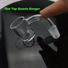 $enCountryForm.capitalKeyWord NZ - Popular 4mm Thick Bottom Quartz Banger Nail All-In-One Male Female Joints Flat Top Quartz Banger Nails For Water Glass Bongs Dab Rigs