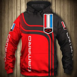 Wholesale chevrolet hoodie online – oversize Chevrolet car D Logo Printed Spring Autumn Men s hoodies Fashion high quality Men s clothes pullovers casual Sportswear