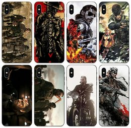pro gear Australia - [TongTrade] Metal Gear Solid Case For iPhone 11 Pro Max X XS XR 8s 7s 6 Plus Samsung S6 S7 S8 S9 S10 Plus Huawei Y6 Redmi 4X Drop Proof Case