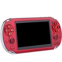 Toptan satış 8G X9 şarj edilebilir 5.0 inç 8G el retro MP3 çalar video oyun kamera el oyun konsolu oyuncu