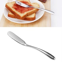 jam knives UK - Stainless Steel Butter Knife Multipurpose Knife Butter Spreader for Butter Cheese Jelly Jam Dessert Breakfast Tool