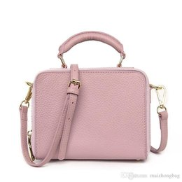 Linen String UK - Nice Fashion Trend Of The First Layer Of Leather Small Square Bag Retro Wind Shoulder Oblique Cross Leather Handbags