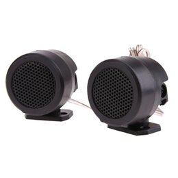 $enCountryForm.capitalKeyWord Australia - Half Dome Car Loud Speaker Tweeter High Efficiency Audio System With Stand Suitable For All Models Used For CD MP3 MP4 MP5
