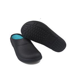 $enCountryForm.capitalKeyWord Australia - 2019 new men's chef kitchen work slippers garden shoes summer aerated mules clogs men's non-slip sandals