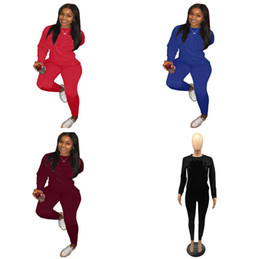 dca07d77698 Brand Designer Women Tracksuit Long Sleeve T Shirt Hoodies + Pants Leggings  2pcs Set Sweatsuit Autumn Outfit CHAMP Sweatshirt Sportswear Hot