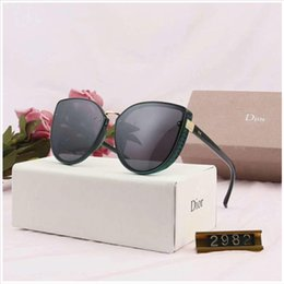 Discount sunglasses glasses stylish - Luxury Sunglasses Designer Sunglasses Stylish Sunglasse Brand Sunglasses for Womens Glass UV400 with 6 Style optional