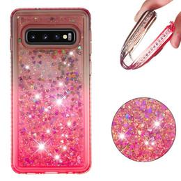 samsung lowest prices 2019 - For MOTO G6 Plus 2018 G5S E5 G7 Bling Diamond Liquid Soft TPU Case Quicksand Dynamic Heart Love Cute Flowing Fashion Ski