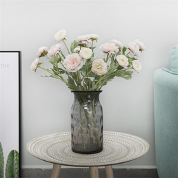 Fake potted Flowers online shopping - Little Lotus Fake Flower Home Desktop Artificial Flowers Potted Plant Decoration Supplies Wedding Road Arrange More Color ydC1