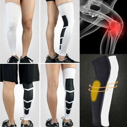 thigh pads Australia - 2019 Fashion Simply Fitness Ankle Compression Socks Knee High Support Stockings Leg Thigh Sleeve Sport Socks Outdoor Men Women
