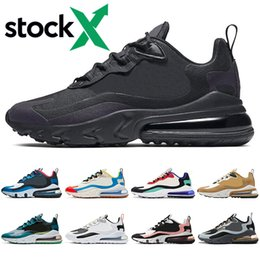 cool mens tennis shoes 2020 - Hot react men women running shoes Bauhuas triple black Cool Grey Red Bronze Right Violet Optical outdoor mens trainers s