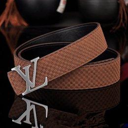 Belts Men Gold Australia - 2019 New Designer Belts Men and Women Fashion Belt Women Leather Belt Gold Silver and Black Buckle Fashion designer Genuine Leather belts