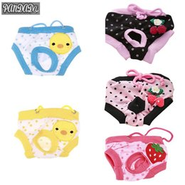 female dog puppy diaper Australia - Floral Sanitary Dog Shorts Pet Dog Panty Female Puppy Shorts Pant Diaper Cute Underwear