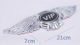 sticker vip cars 2019 - GMOTOD VIP car scale 3D car beacon personality Car stickers decoration cheap sticker vip cars