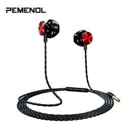 $enCountryForm.capitalKeyWord UK - Colorful 3.5mm In-Ear Sport Wired Earphones 3D Stereo HD Sound Quality Earphone With Mic Headphones Noise Canceling Headset New