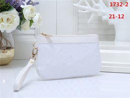 Womens Clutch White Black Australia - high quality Fashion Womens handbags Famous Brands Designer Women Clutch Bags Luxury Lady PU Leather Cosmetic bag L1732