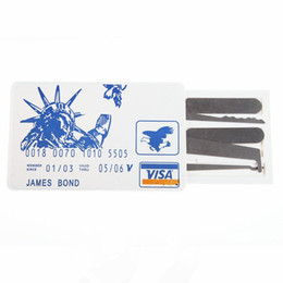Wholesale Credit Card Lock Pick Set door opener tool for repair