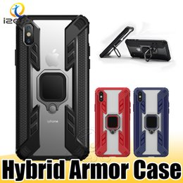 Plastic case for iPhone customize online shopping - Hybrid Kickstand Design Phone Case for Samsung Galaxy Note10 S10 Plus M10 M20 M30 A50 A20 A30 iPhone XS Max XR Cover Shell