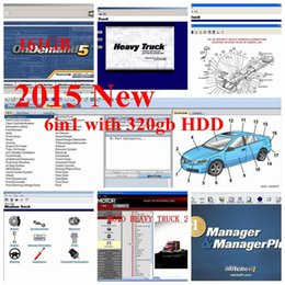 Mitchell Software 2015V Últimas 6en1 con 320gb hdd Auto Repair Software Mitchell on demand + manager plus + heavy truck y más en venta
