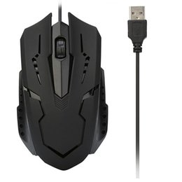 $enCountryForm.capitalKeyWord Australia - Mosunx Design Wired Optical Gaming Mouse Mini Black 1200 DPI USB Office Use Mice High Quality Mouse For PC Laptop Notebook L0301