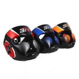 Taekwondo proTecTors online shopping - Available in a variety of styles Head protector Sanda Muay Thai Martial Arts Taekwondo Boxing Headgears Fight Head Guard