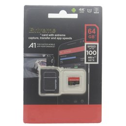 Discount 32gb sd card tf class - New hot Popular sale A2 Android Phone 32GB 64GB 128GB Class 10 Micro SD card micro 256GB 100MB S micro TF Card