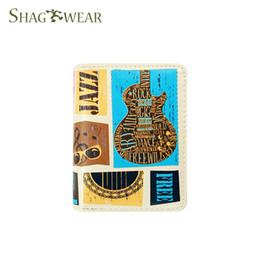 Guitar fashion online shopping - Shag Wear Music Festival Guitar Women s Fashion Small Zipper Wallet Genuine Caviar Leather Coin Purse Top Quality Girl s Card Holder wallets
