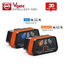 $enCountryForm.capitalKeyWord Australia - Vgate icar2 Bluetooth Wifi OBD2 Diagnostic-tool ELM327 OBD 2 Scanner Mini for android PC IOS Code Reader