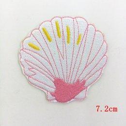 Patch applique ricamate in ferro Patch cerate trasparenti rosa mare per t-shirt da beach jacket Toppe sportive da corsa