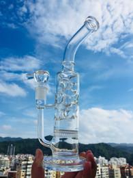 "$enCountryForm.capitalKeyWord Australia - Glass bongs 12"" smoking hookah pipes Glass skeleton pipe beautiful shisha water pipe bubbler 14.4mm clear hookahs oil RIGS bowl"