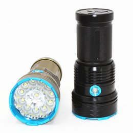 skyray flashlight torch Australia - 25000 lumens SKYRAY King 12T6 LED flashlamp 12 x CREE XM-L T6 Tactical Portable Led Flashlight Hunting Lamp Flashlights Torch